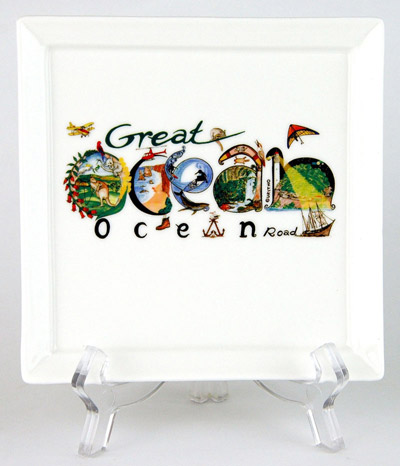 CFP142: Great Ocean Road Small Platter & Stand