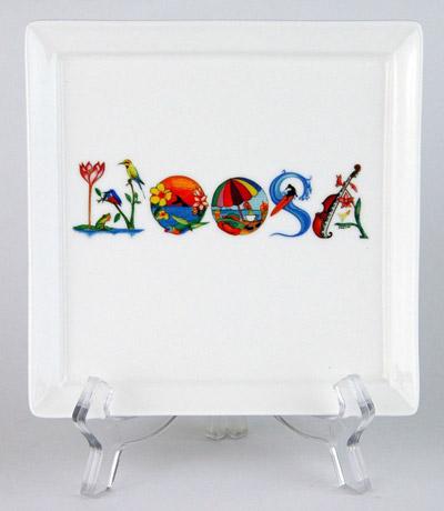CFP83: Noosa Small Platter & Stand