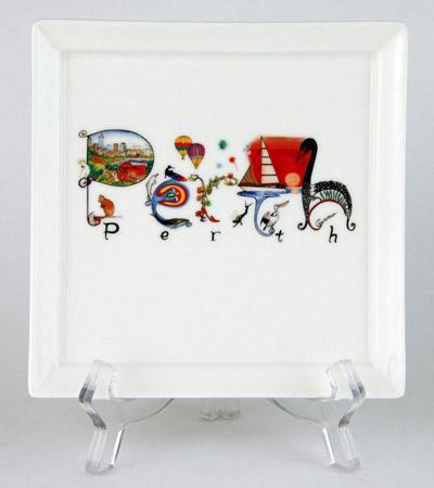 CFP432: Perth Australia Small Platter