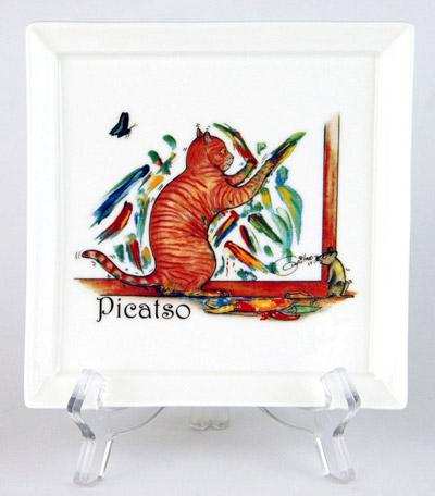 CFP167: Picatso Small Platter & Stand