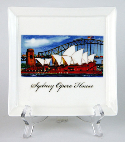 CFP156: Sydney Opera House Small Platter & Stand