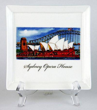 CFP156: Sydney Opera House Small Platter & Stand