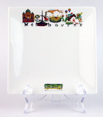 CSQP153: Melbourne Australia Square Platter