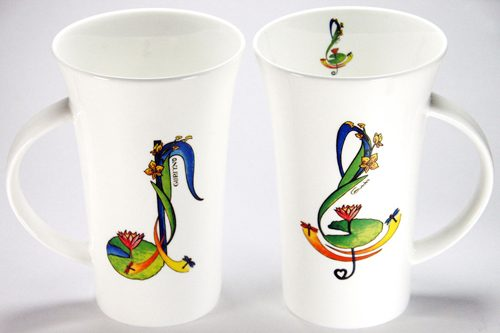 CXLM111: Arabesque Large Mug
