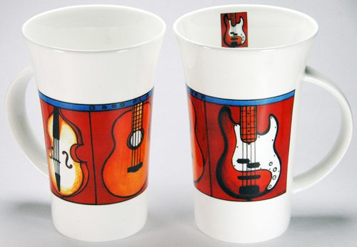 CXLM29: Bass Player Large Mug
