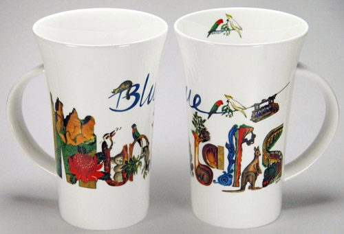 CXLM84: Blue Mountains Large Mug