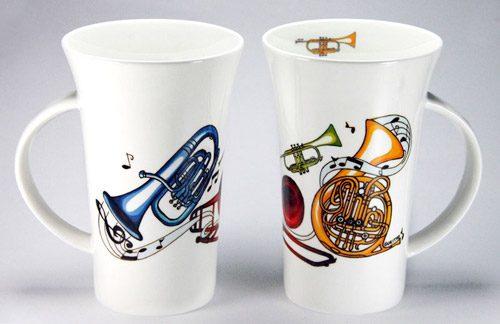 CXLM31: Brass Large Mug
