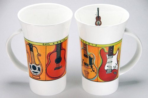 CXLM28: Guitars Large Mug