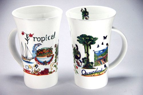 CXLM128: Tropical Queensland Large Mug
