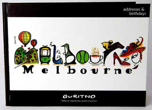 SABA44: Melbourne Address & Birthday Book