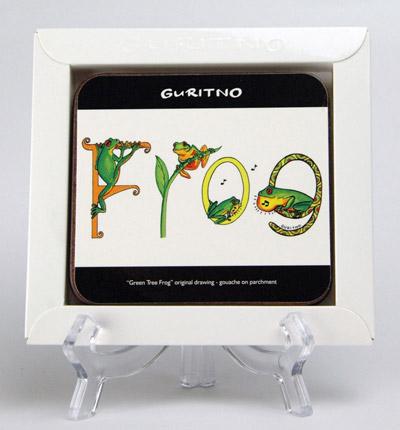 TCS: Green Tree Frog Coasters