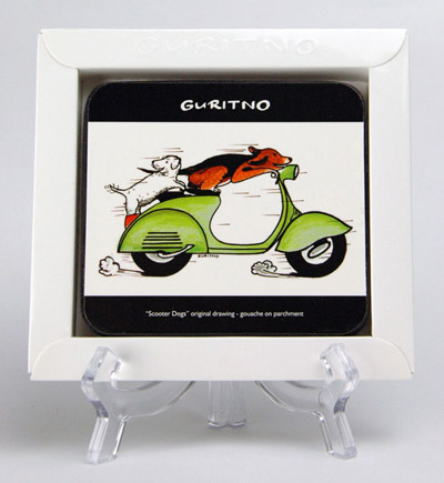 TCS27: Scooter Dogs Coasters