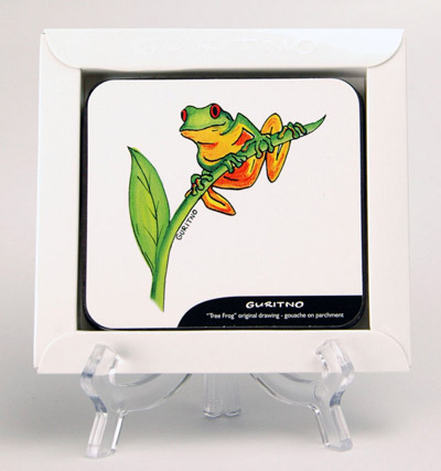 TCS79: Tree Frog Coasters