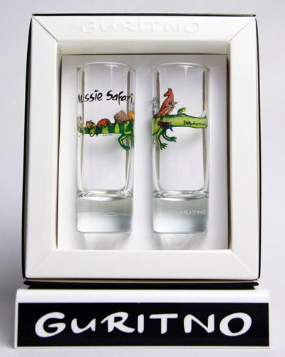 TSG59: Aussie Safari Shot Glass Set