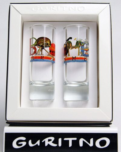 TSG81: Broome Shot Glass Set