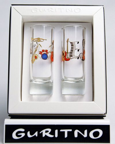 TSG147: My Tunes Shot Glass Set